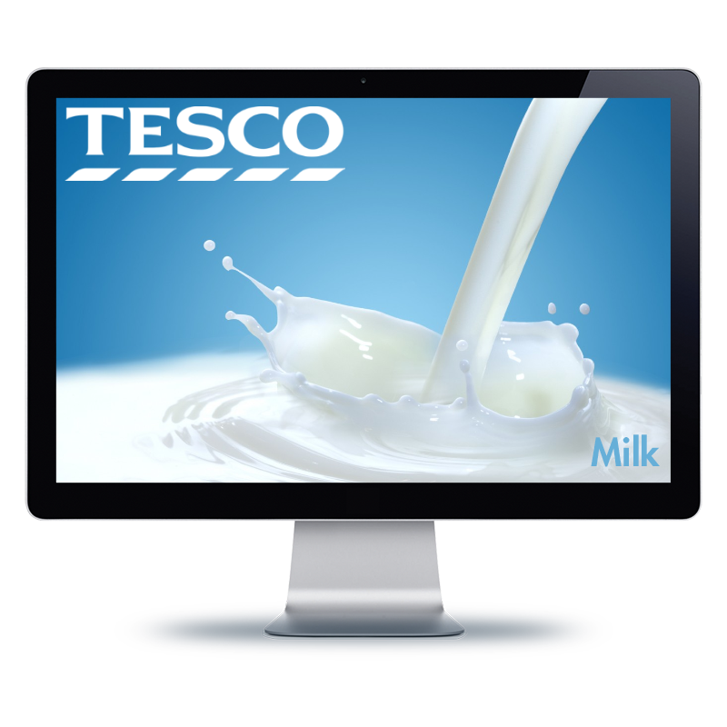 Bernhard Media Tesco web site design